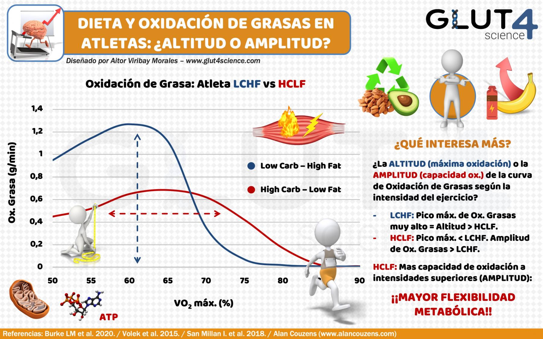 Fat Oxidation in Athletes: High Carbohydrate versus High Fat Diet