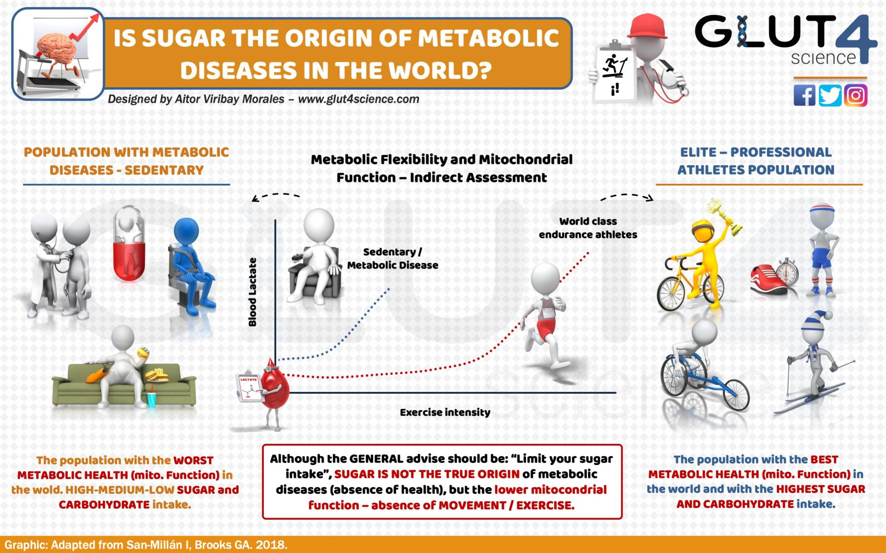 Is Sugar the Origin of Metabolic Diseases
